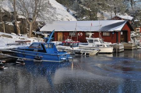 Båtar i is Foto Lars Erik Mannberg DSC_0773