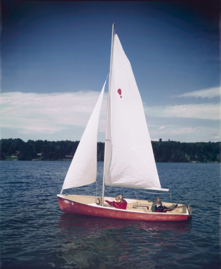 segelbåt Wegman